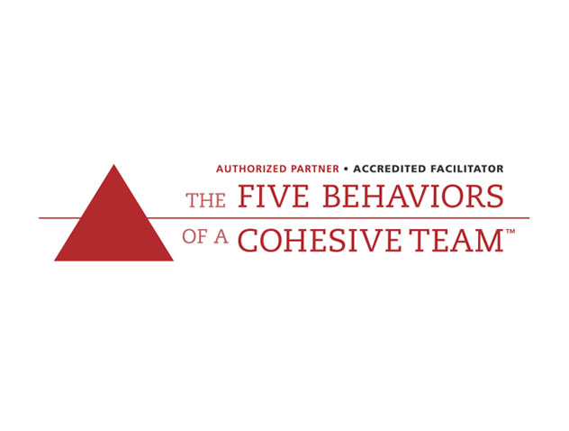 Authorized Partner and Accredited Facilitator of The Five Behaviors of a Cohesive Team